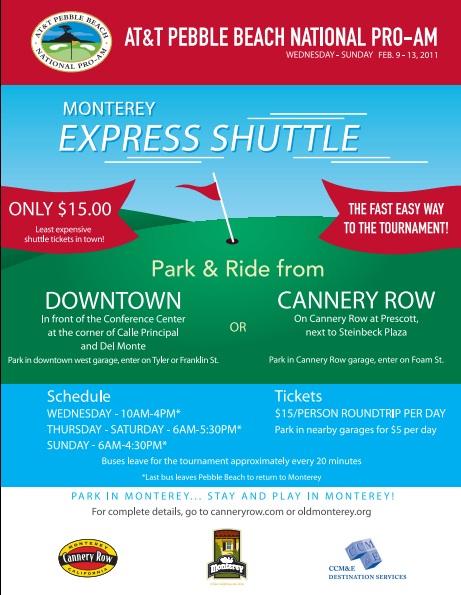 Att Cannery Row Shuttle 2011