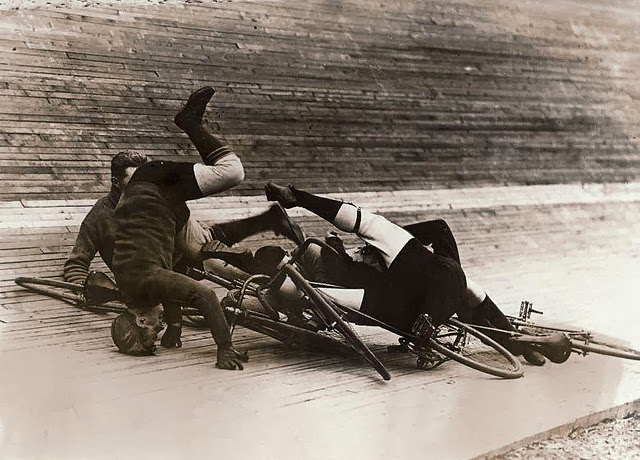 Bicycle Crash In the Past