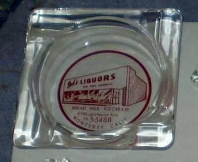 Bobs Liquor Ash Tray