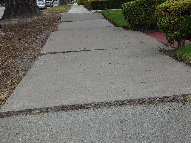 Bumpy Sidewalk