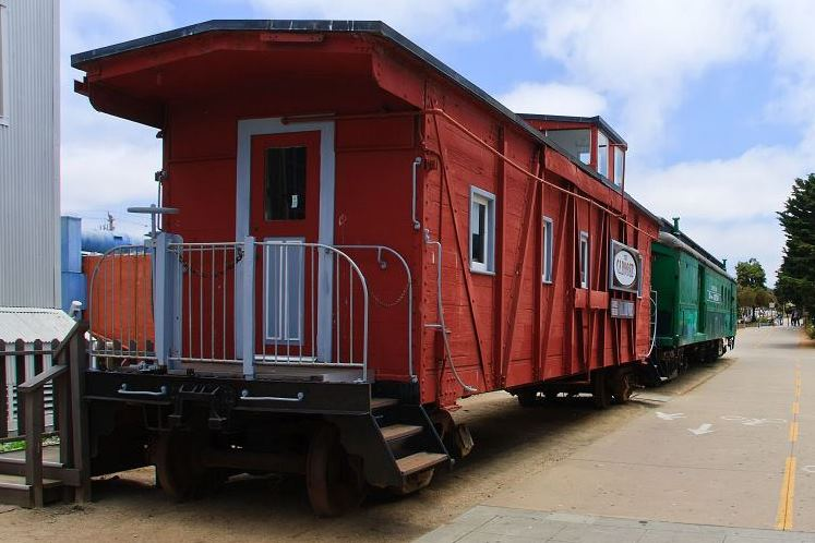 Cannery Row Caboose