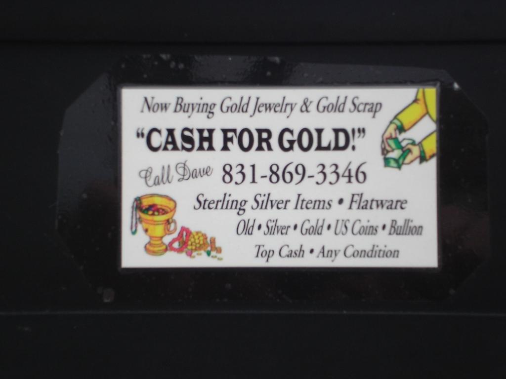 Cash For Gold Jerk