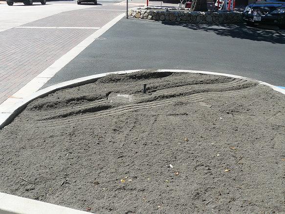 Curb Corner Cut