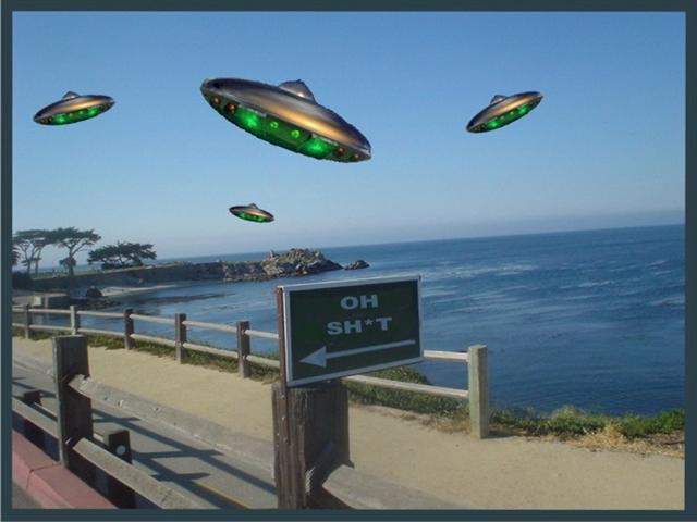 Downtown Ufos