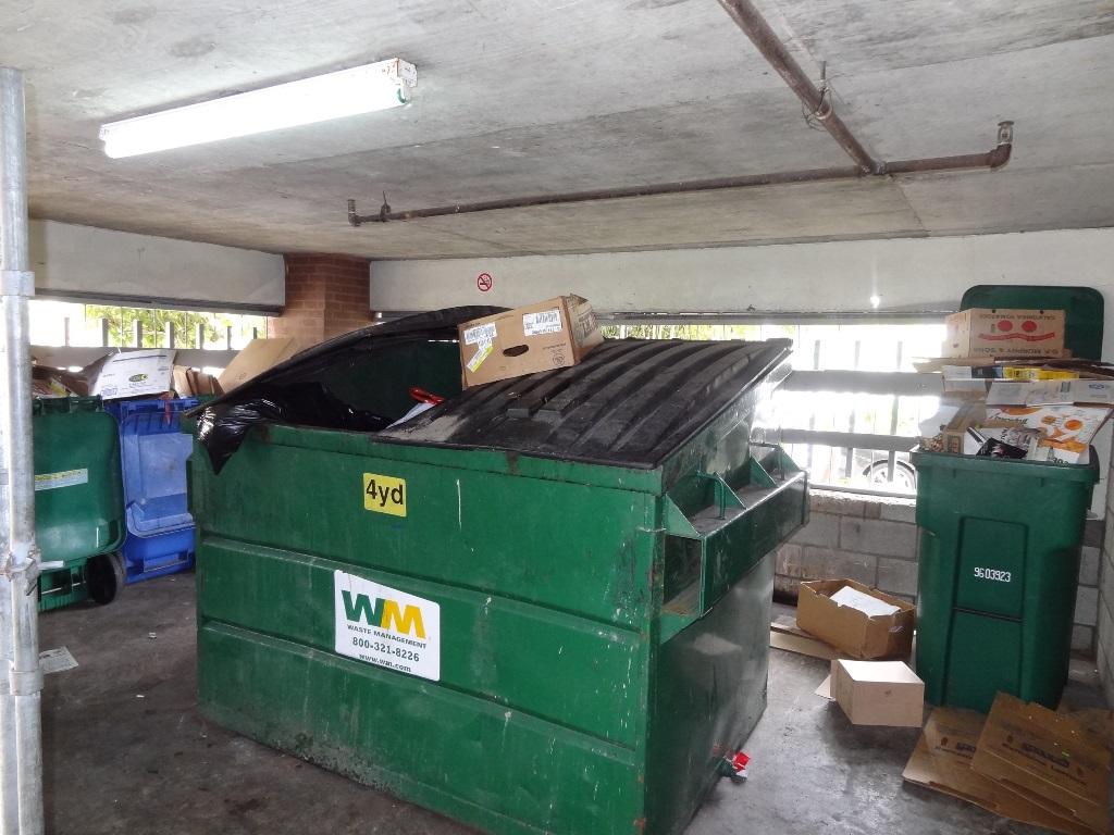 Dumpster PG Plaza 130803 Trash