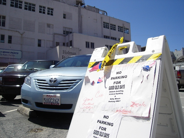 God No Parking