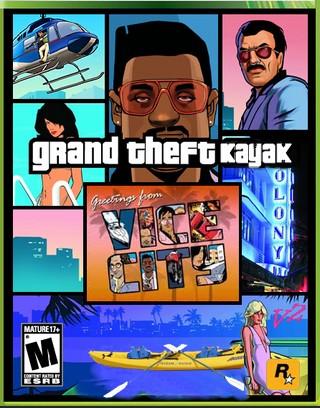 Grand Theft Kayak