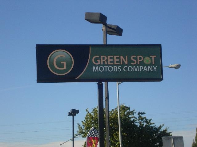 Green spot cars