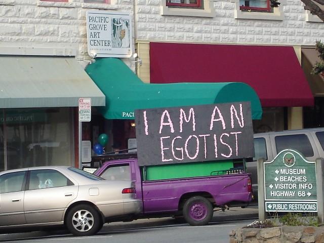 I Am An Egotist