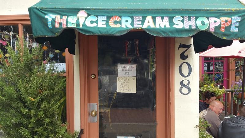 Ice Cream Shoppe Awning
