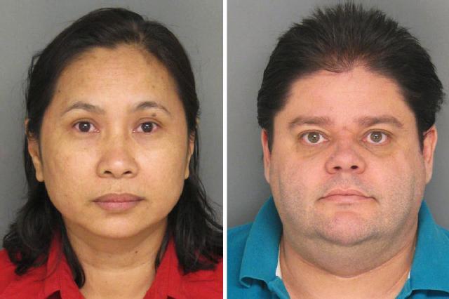 Jason Wright 40 And His Wife Rampueng Kaeorawang 41