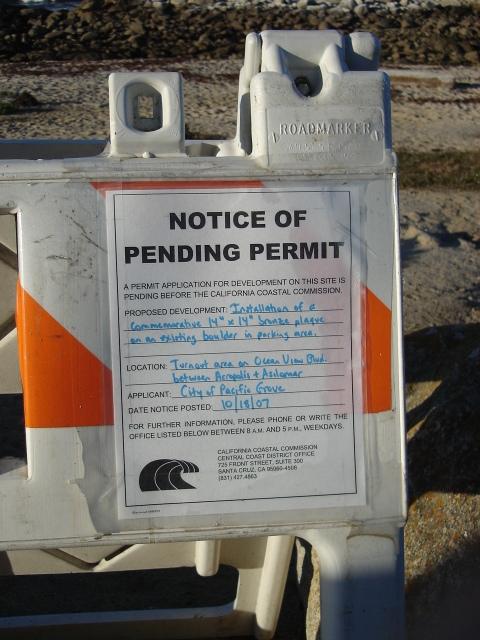 John Denver Memorial Permit