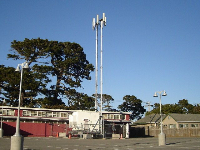 Lighthouse School Cell Towers