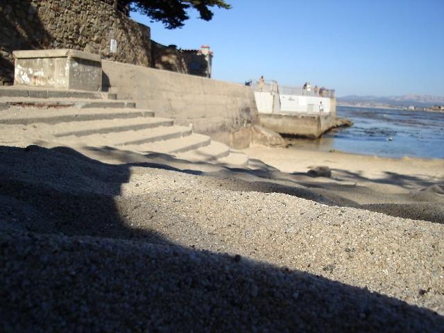 Lovers Point Beach Sand