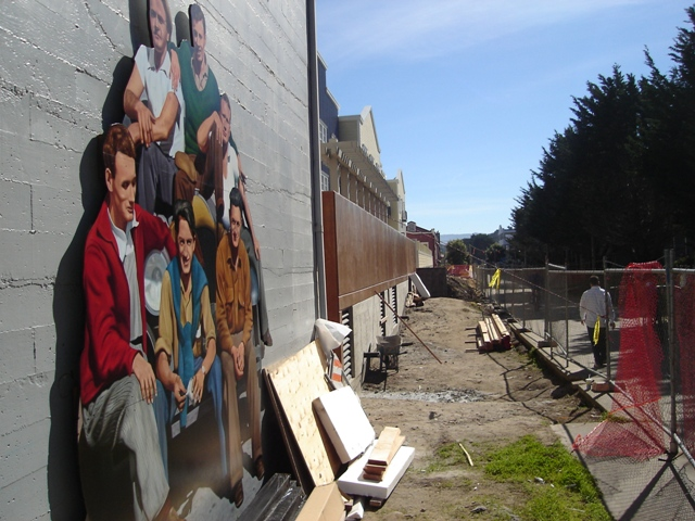 Mac And The Boys Mural 2
