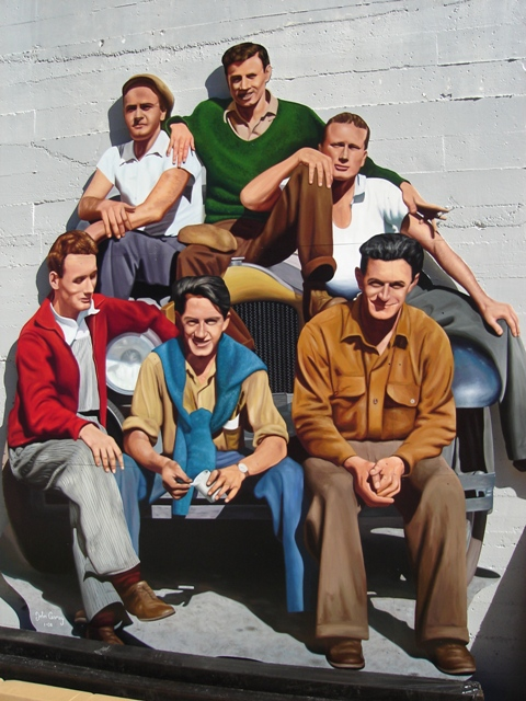 Mac And The Boys Mural