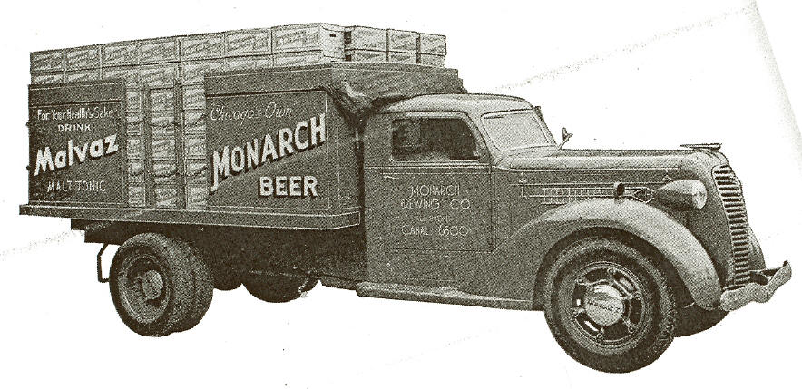 Monarch Beer Truck