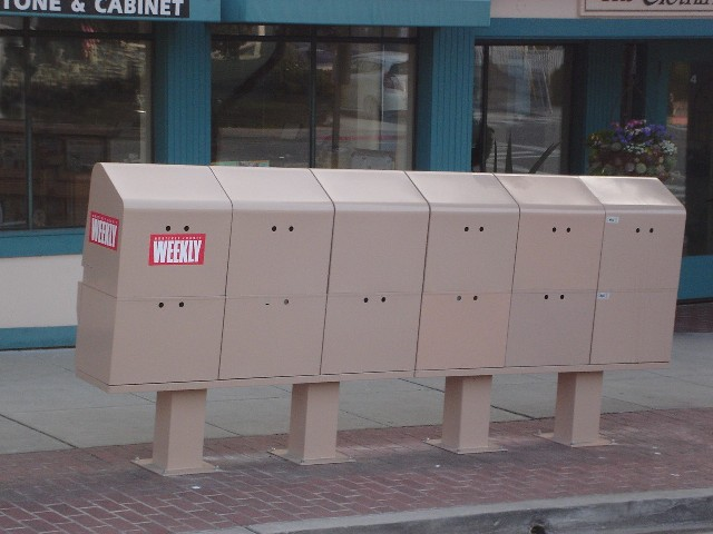 Ugly News Rack
