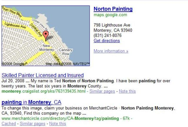 Norton Painting Google