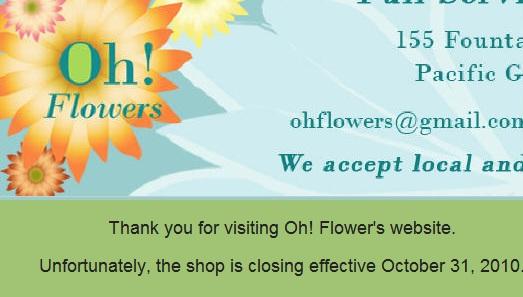 Oh Flowers Dotnet