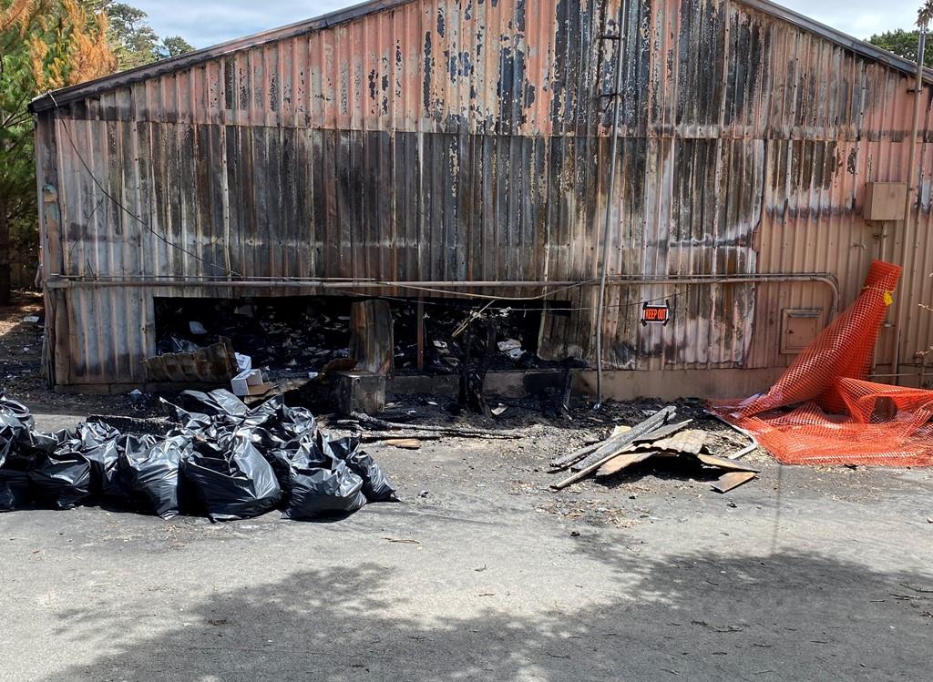 PGPW Crash Fire