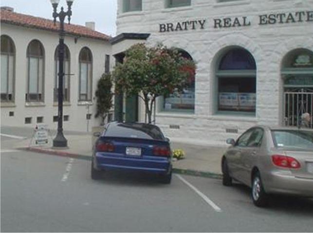 Parking Bratty Stang