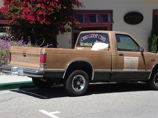 Parking Chili Truck