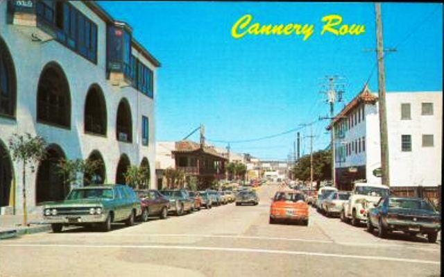 Postcard Cannery Row Hoffman