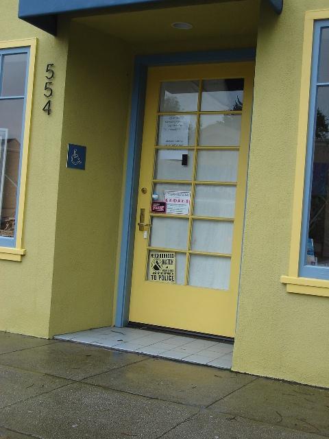 Pot Shop Closed