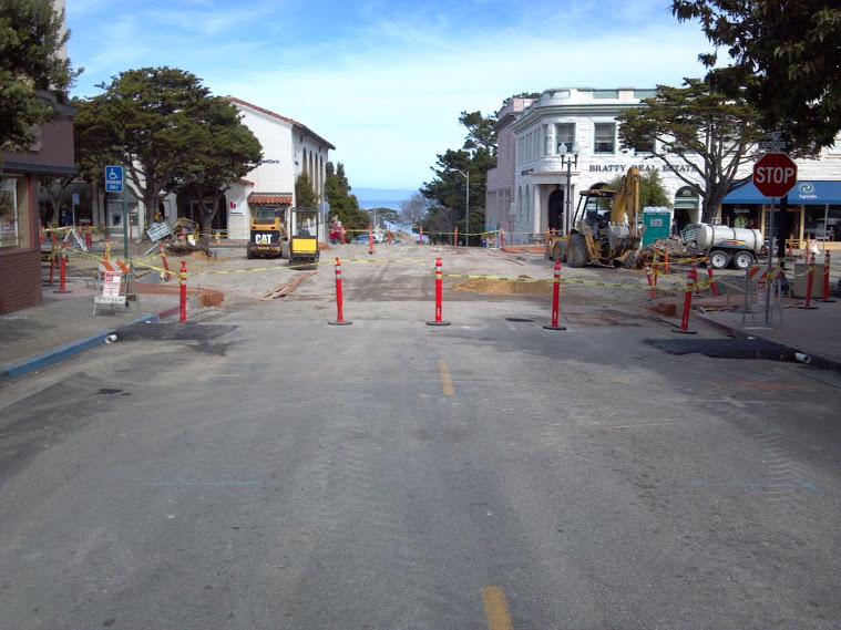 Sidewalk Reconstruction Road Closed