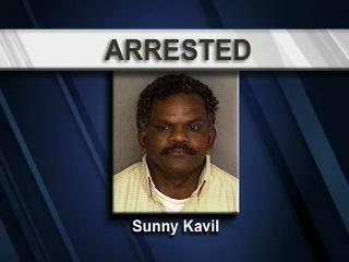 Sunny Kavil Arrested