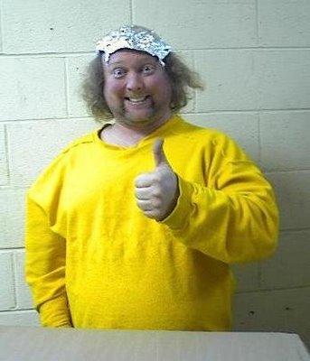 Tinfoil hat guy