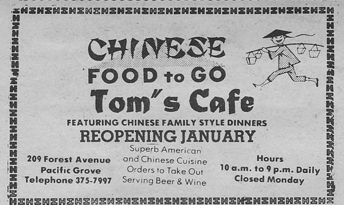 Toms Cafe Tribune 750101