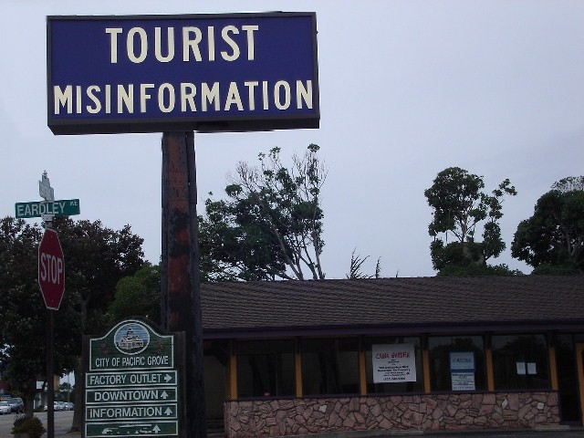 Tourist Misinformation