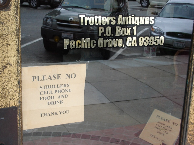 Trotters Not Allowed