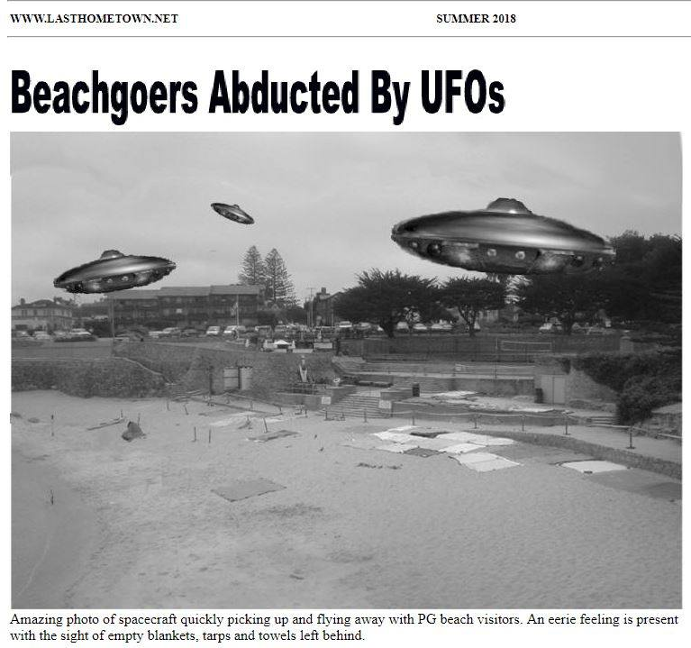 Ufos Take Beachgoers