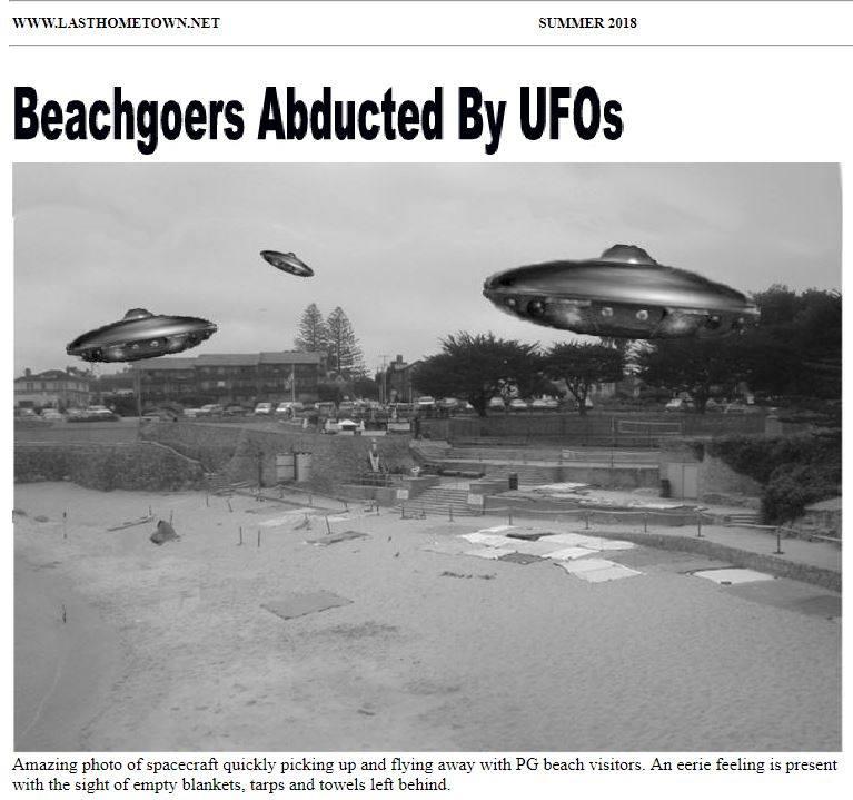 Ufos Take Beachgoers