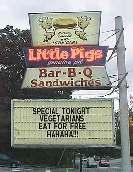 Vegetarians Eat Free