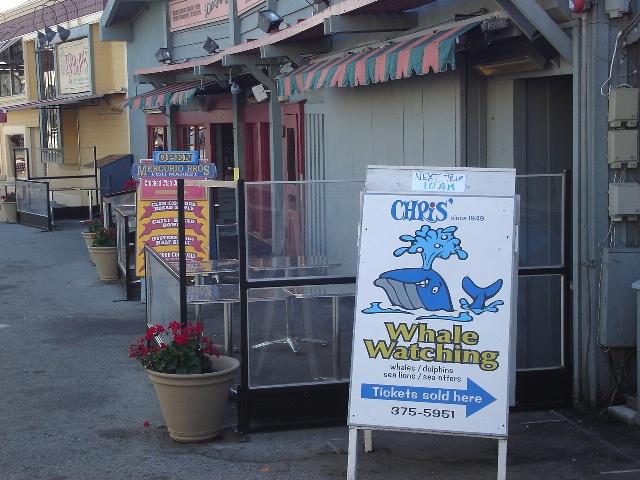 Wharf Signs