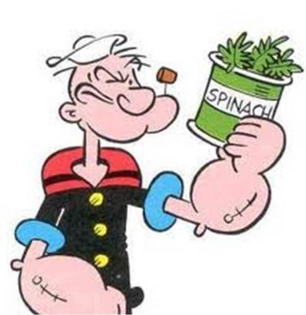 popeye spinach